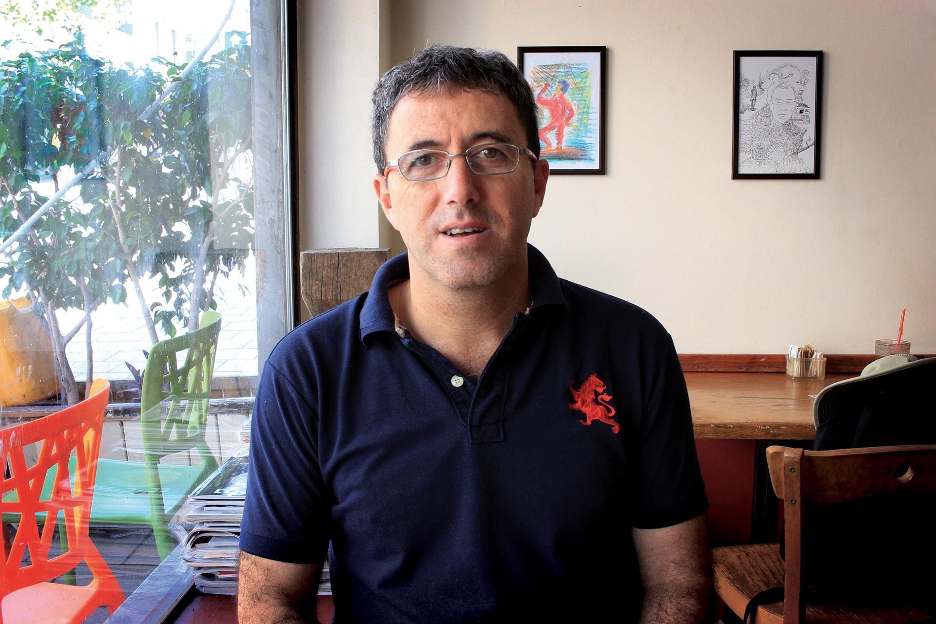 Gidon Bromberg, Israeli Director, Eco-Peace Middle East © Eco-Peace