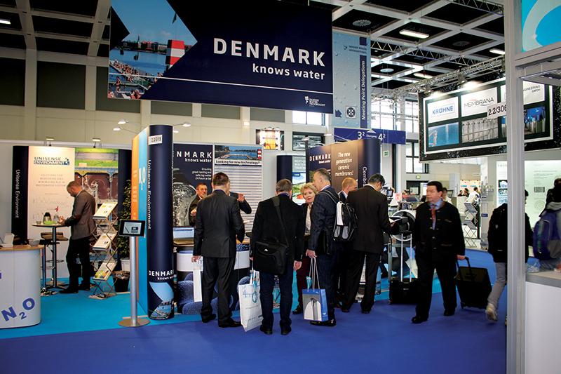 Danish Pavilion at Wasser Berlin 2015 © Danish Export Association