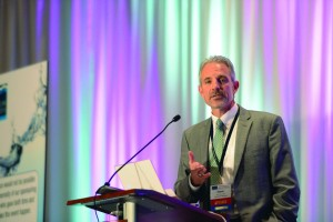 Steve Cavanaugh, chair of the American Water Works Association Committee on Water Loss Control ©AWWA