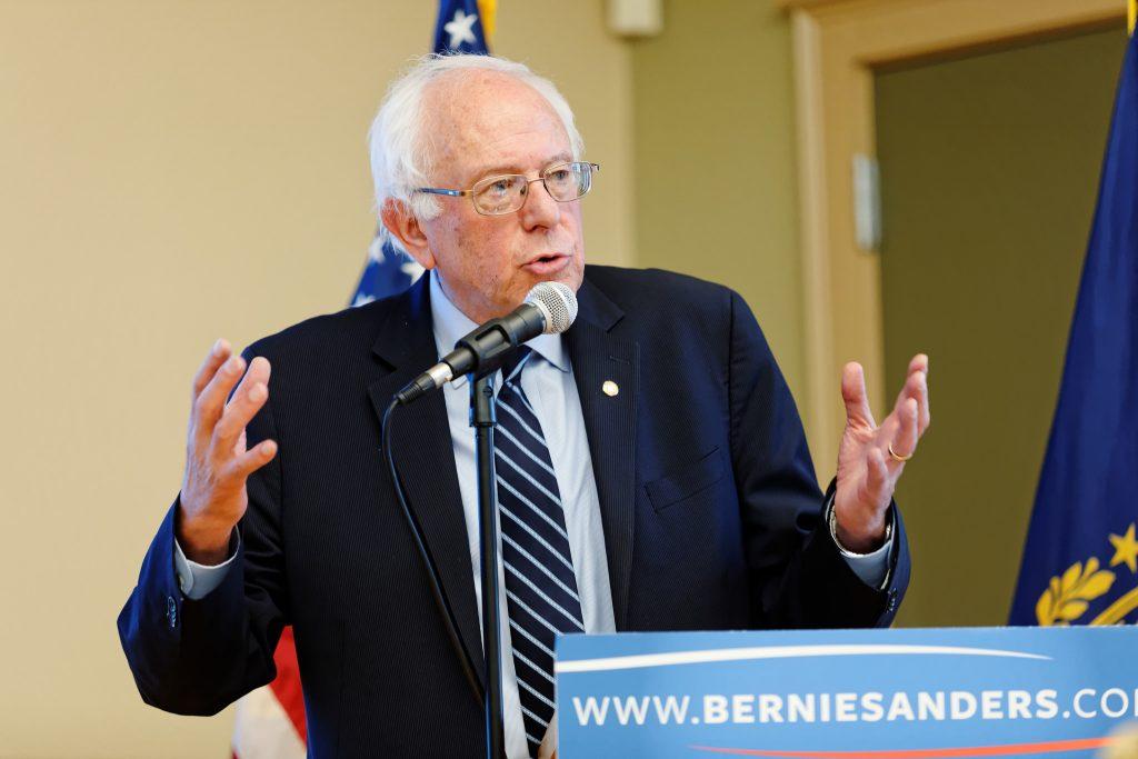 Democratic candidate Bernie Sanders © Michael Vadon