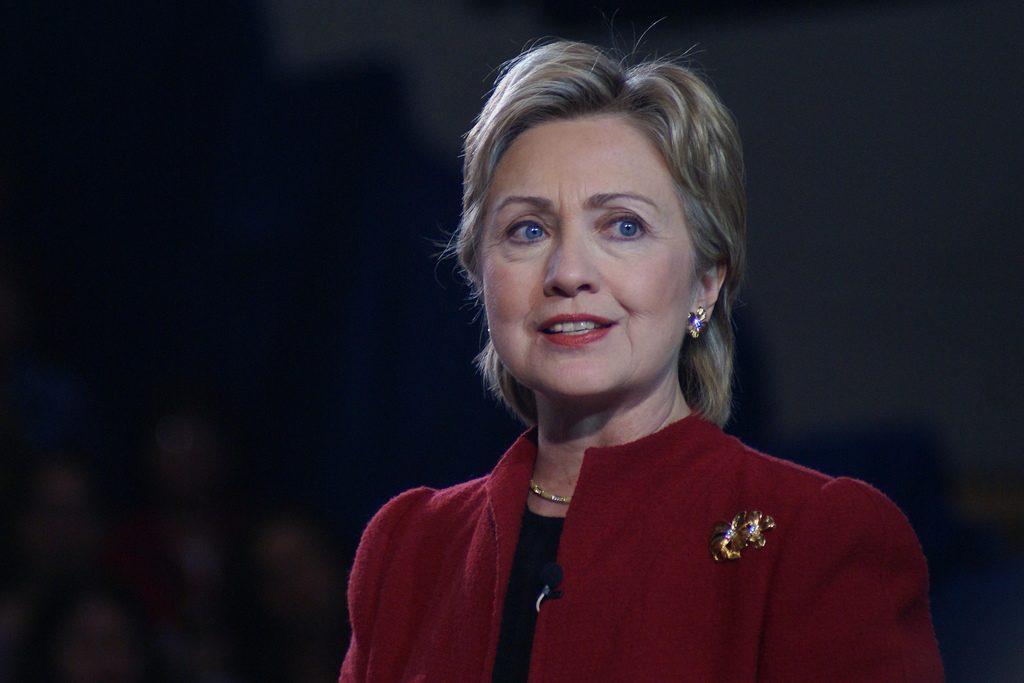 Democratic candidate Hillary Clinton © Marc Nozell