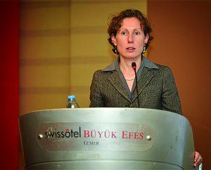 Elena Bourganskaia, Global Head of Water & Municipal Infrastructure, International Finance Corporation © Izmir Metropolitan Municipality