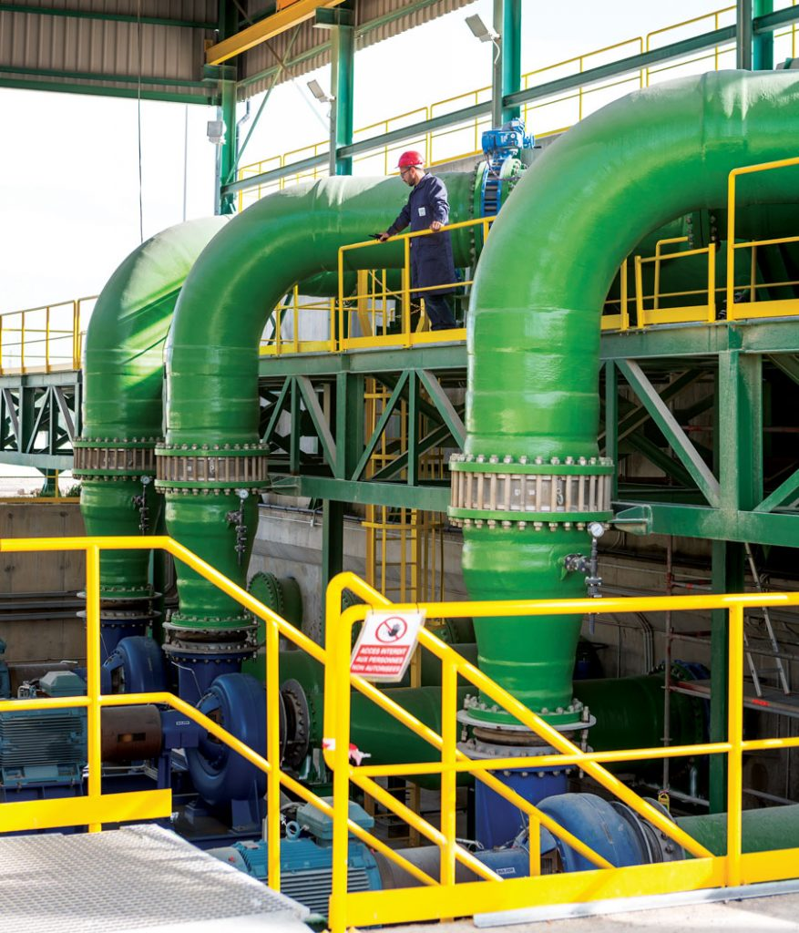 Jorf Lasfar seawater desalination plant © OCP