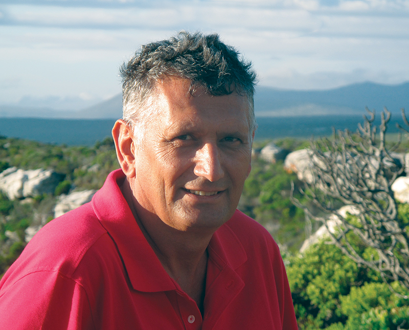 Christo Marais, Chief Director of Natural Resource Management Programmes, South Africa