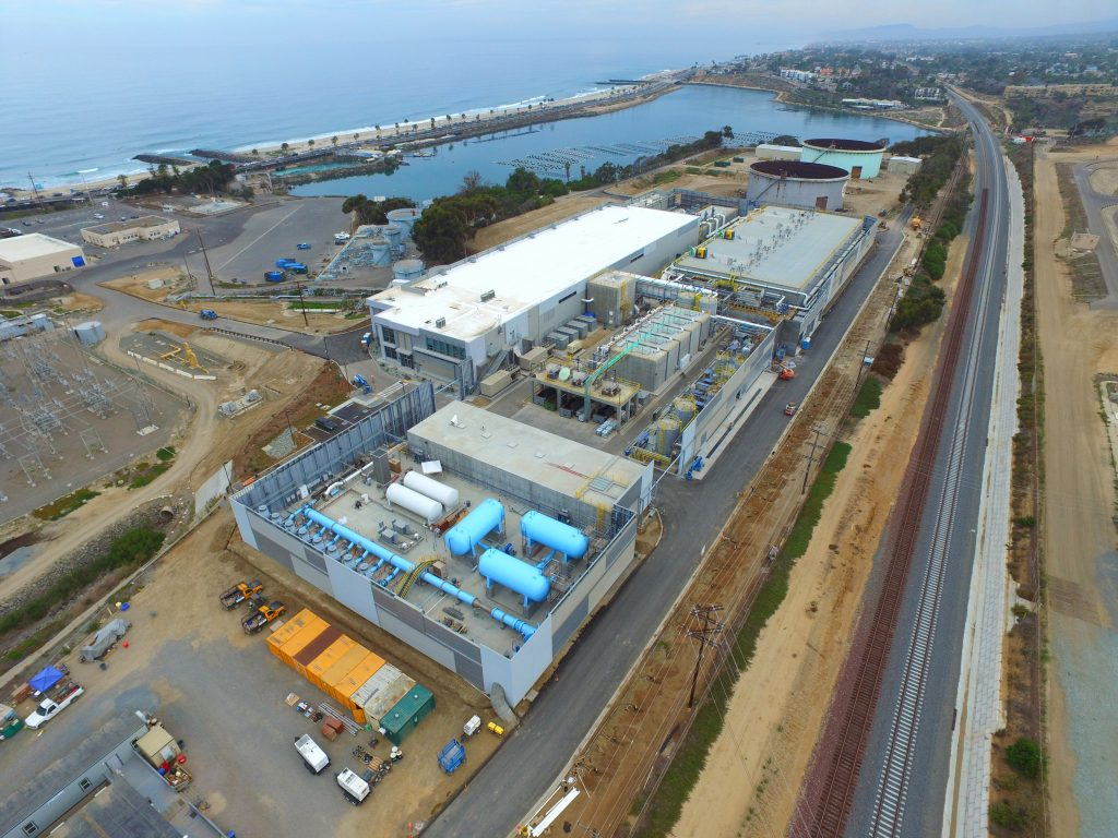 Carlsbad desalination plant in San Diego is the US's largest, most technologically advanced and energy-efficient' seawater desalination plant